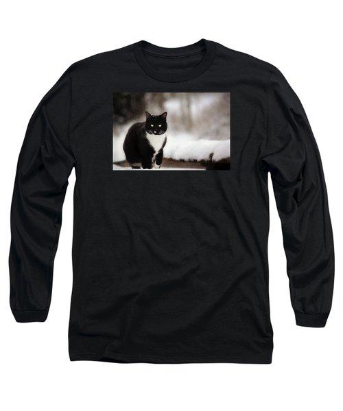 Kitty Snow Play Long Sleeve T-Shirt