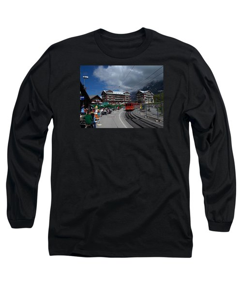Kleine Schedegg Switzerland Long Sleeve T-Shirt