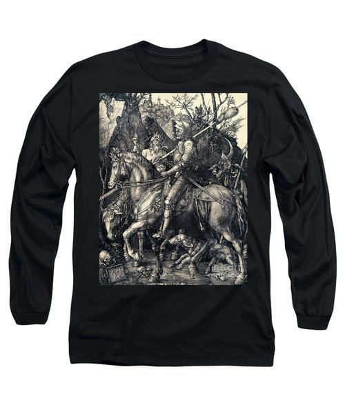 Knight Death And The Devil Long Sleeve T-Shirt