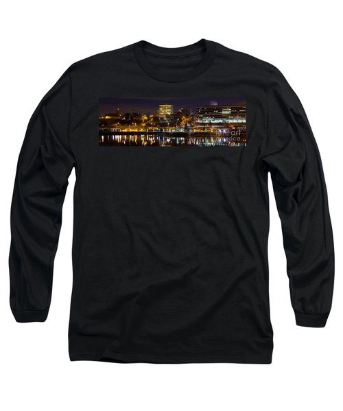 Knoxville Waterfront Long Sleeve T-Shirt by Douglas Stucky