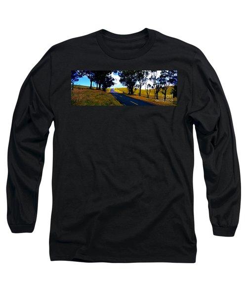 Long Sleeve T-Shirt featuring the photograph Kohala Mountain Road  Big Island Hawaii  by Tom Jelen