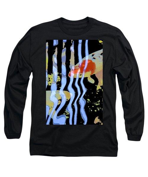 Koi 20 Long Sleeve T-Shirt by Pamela Cooper