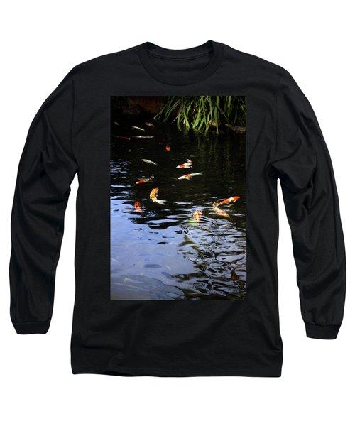 Koi Fish Long Sleeve T-Shirt