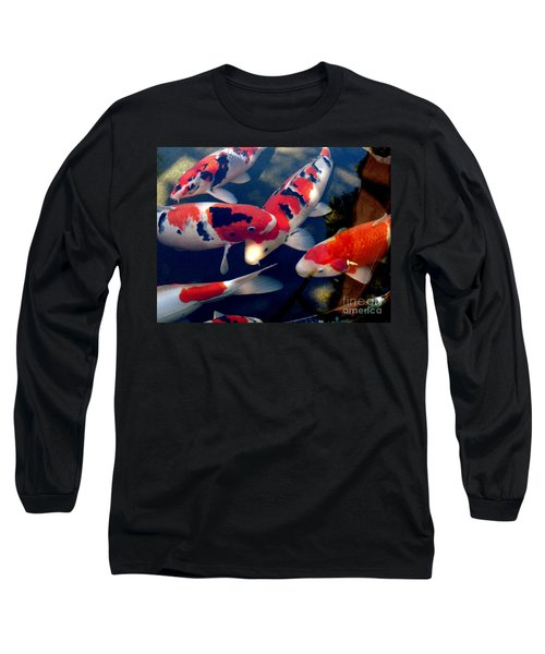 koi Long Sleeve T-Shirt by Irma BACKELANT GALLERIES
