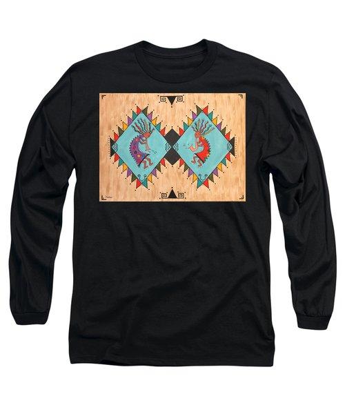 Kokopelli Jammin Long Sleeve T-Shirt