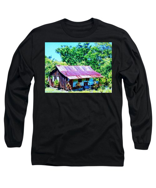 Kona Coffee Shack Long Sleeve T-Shirt