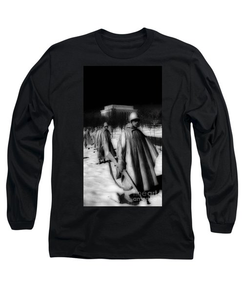 Korean Memorial Long Sleeve T-Shirt by Skip Willits
