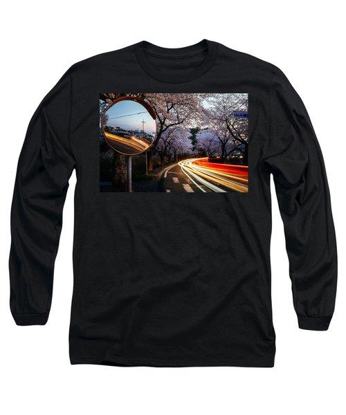 Korea's Roadside Blossoms Long Sleeve T-Shirt