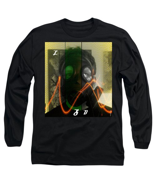 Long Sleeve T-Shirt featuring the photograph L S D  Part Three by Sir Josef - Social Critic - ART