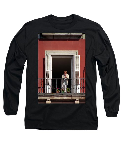 La Madrilena Long Sleeve T-Shirt