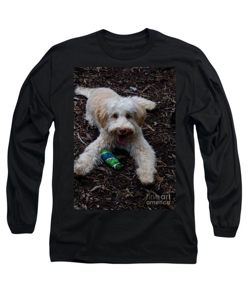 Labradoodle At Play Long Sleeve T-Shirt