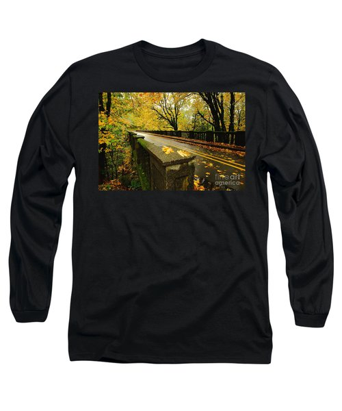 Leaves Of Gold Long Sleeve T-Shirt