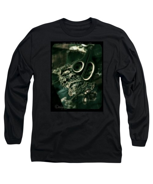 Long Sleeve T-Shirt featuring the digital art Lace by Delight Worthyn