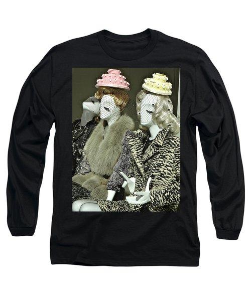 Ladies A La Mode Long Sleeve T-Shirt by Ira Shander