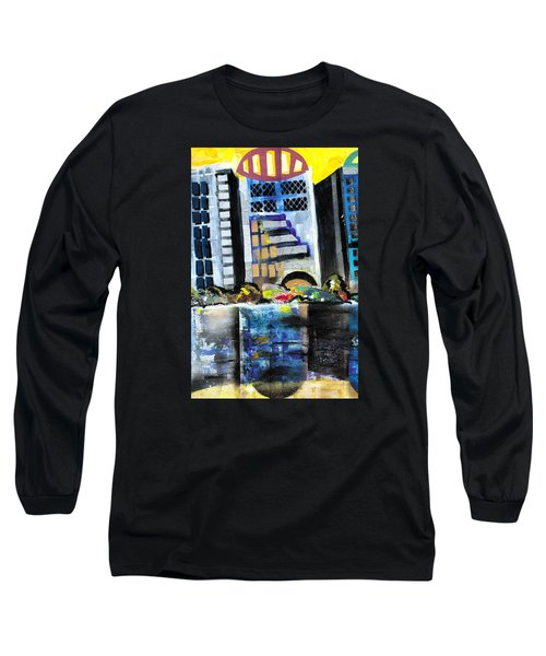 Lake Eola - Part 1 Of 3 Long Sleeve T-Shirt