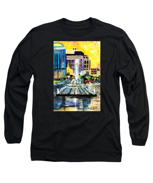 Lake Eola - Part 2 Of 3 Long Sleeve T-Shirt