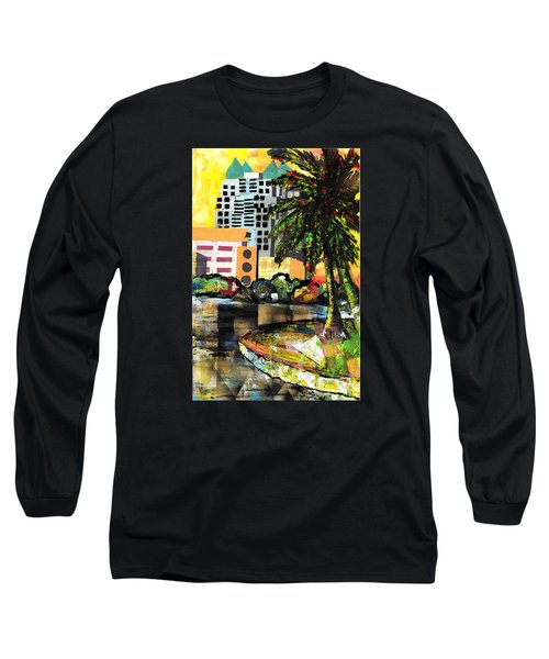 Lake Eola - Part 3 Of 3 Long Sleeve T-Shirt