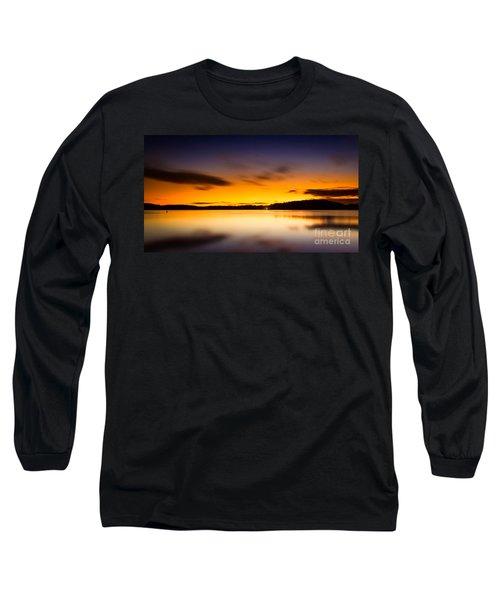 Lake Lanier Sunrise Long Sleeve T-Shirt