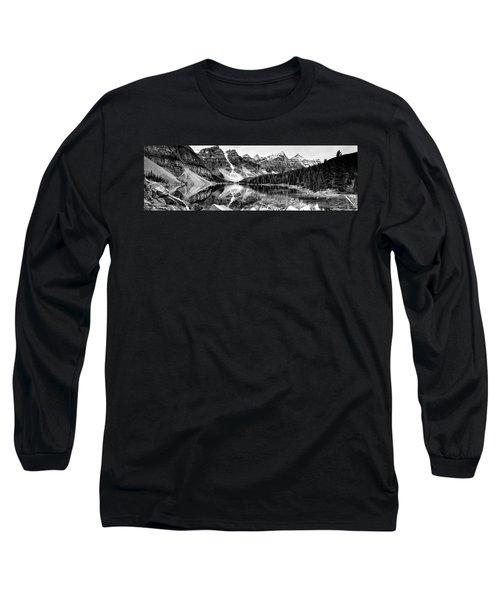 Lake Moraine Reflection Long Sleeve T-Shirt