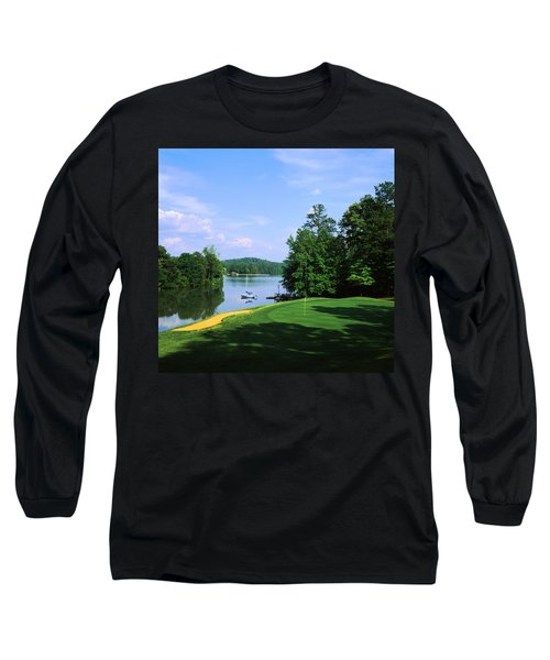 Lake On A Golf Course, Legend Course Long Sleeve T-Shirt