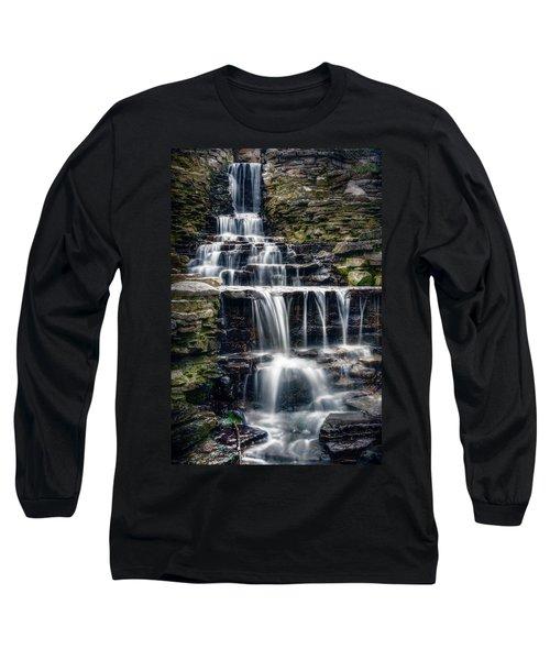 Lake Park Waterfall Long Sleeve T-Shirt