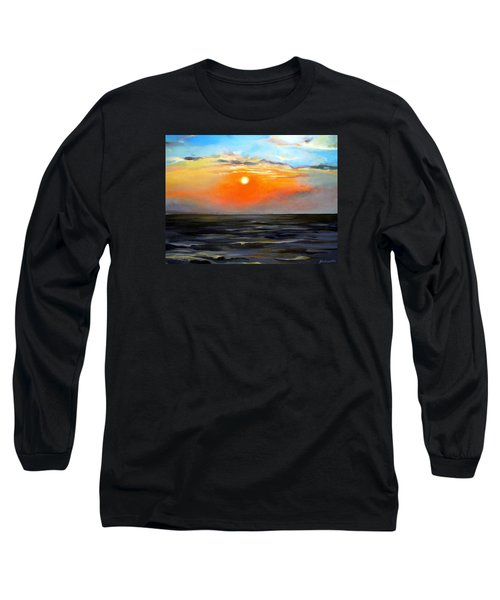 Lake Pontchartrain Sunset  Long Sleeve T-Shirt