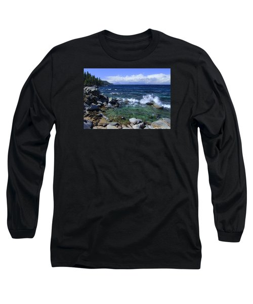 Long Sleeve T-Shirt featuring the photograph Lake Tahoe Wild  by Sean Sarsfield