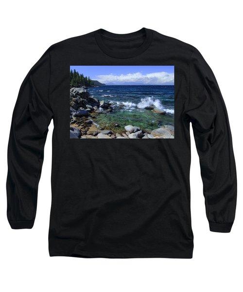 Lake Tahoe Wild  Long Sleeve T-Shirt