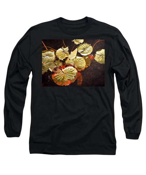 Lake Washington Lily Pad 11 Long Sleeve T-Shirt
