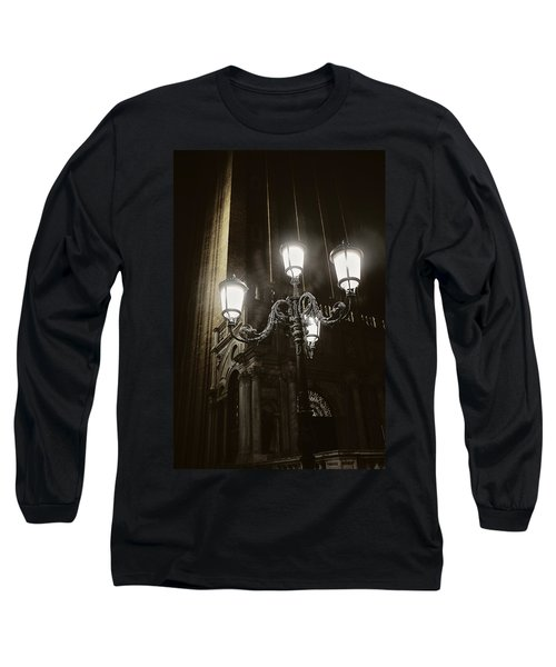 Lamp Light St Mark's Square Long Sleeve T-Shirt