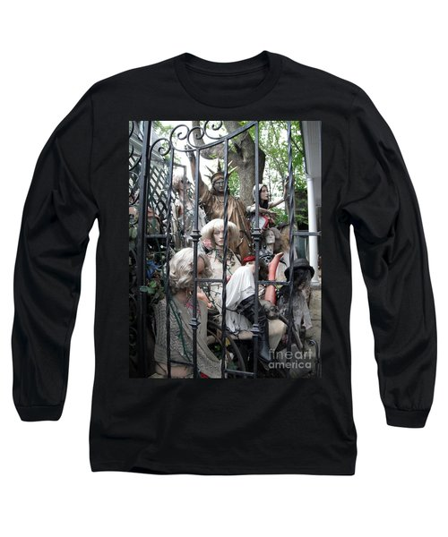 Land Of The Free  #2  Long Sleeve T-Shirt by Susan Carella