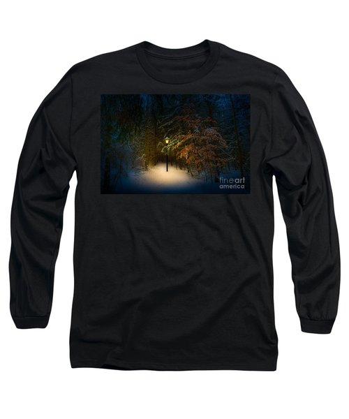Lantern In The Wood Long Sleeve T-Shirt