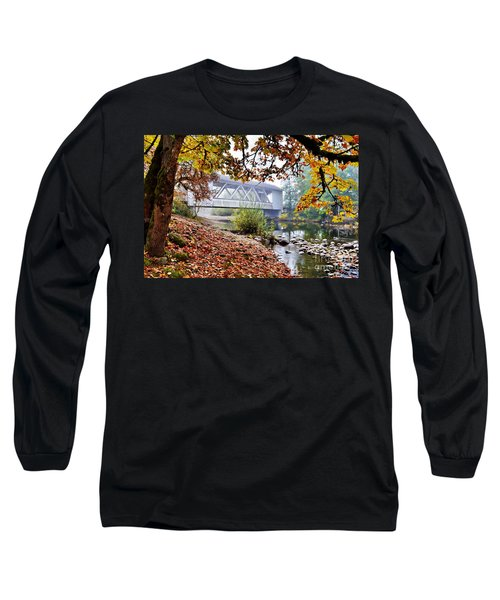 Larwood Covered Bridge Long Sleeve T-Shirt