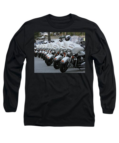 Long Sleeve T-Shirt featuring the photograph La's Finest by Shoal Hollingsworth