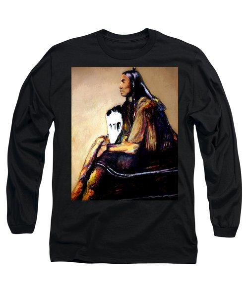 Quanah Parker- The Last Comanche Chief Long Sleeve T-Shirt