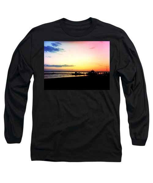 Long Sleeve T-Shirt featuring the photograph Last Light by Denyse Duhaime