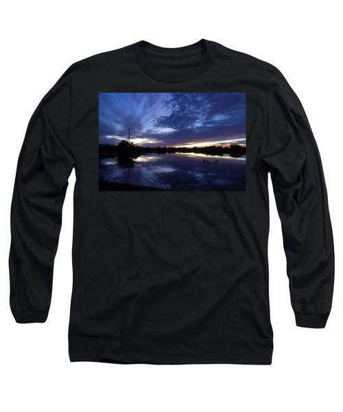 Last Light Long Sleeve T-Shirt by Tam Ryan