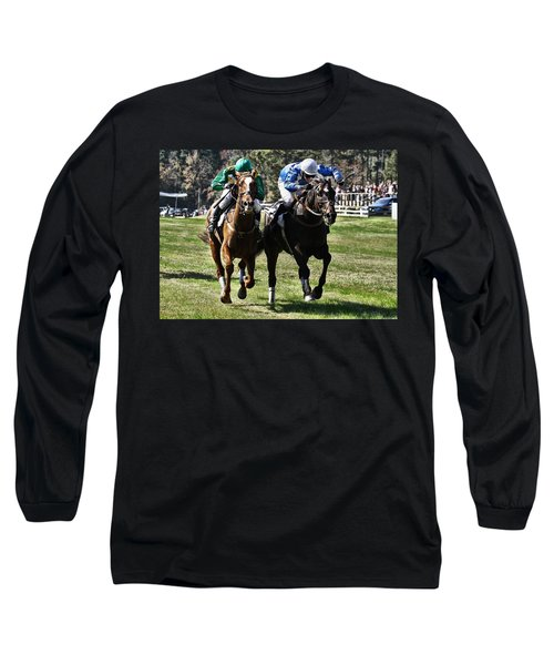 Last One To The Finish Line Is A Rotten Egg Long Sleeve T-Shirt