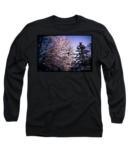 Last Peek Of Winter Sun Long Sleeve T-Shirt