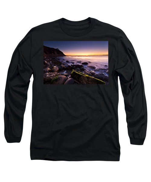 Long Sleeve T-Shirt featuring the photograph Last Ray by Mihai Andritoiu