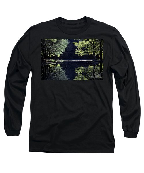 Late Afternoon Reflection Long Sleeve T-Shirt