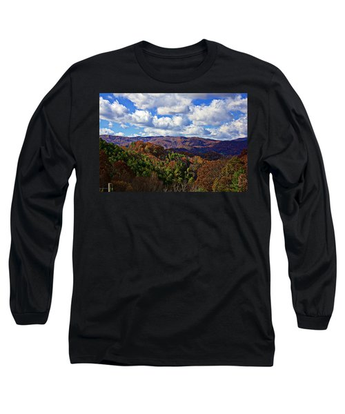 Late Autumn Beauty Long Sleeve T-Shirt by Tom Culver