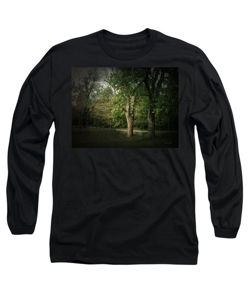 Late Day Drive Long Sleeve T-Shirt by Cynthia Lassiter