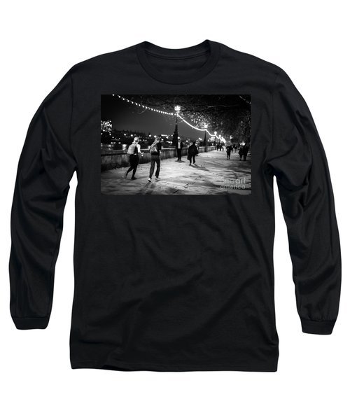 Late Night Run Long Sleeve T-Shirt