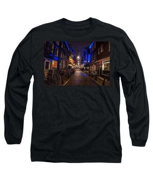 Late Nights Long Sleeve T-Shirt by Jonah  Anderson