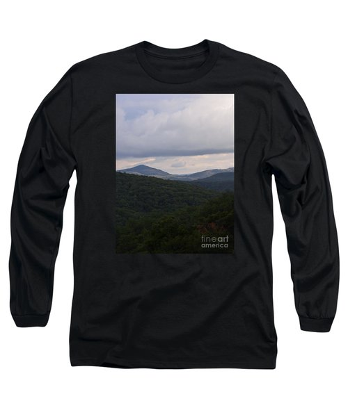 Long Sleeve T-Shirt featuring the photograph Laurel Fork Overlook 1 by Randy Bodkins