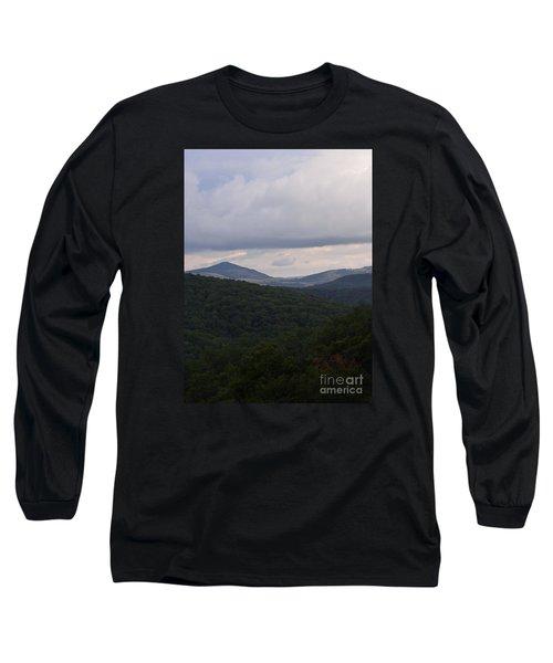 Laurel Fork Overlook 1 Long Sleeve T-Shirt by Randy Bodkins
