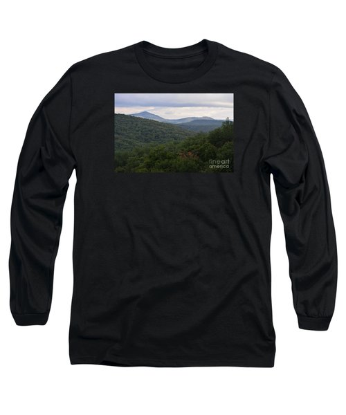 Long Sleeve T-Shirt featuring the photograph Laurel Fork Overlook II by Randy Bodkins