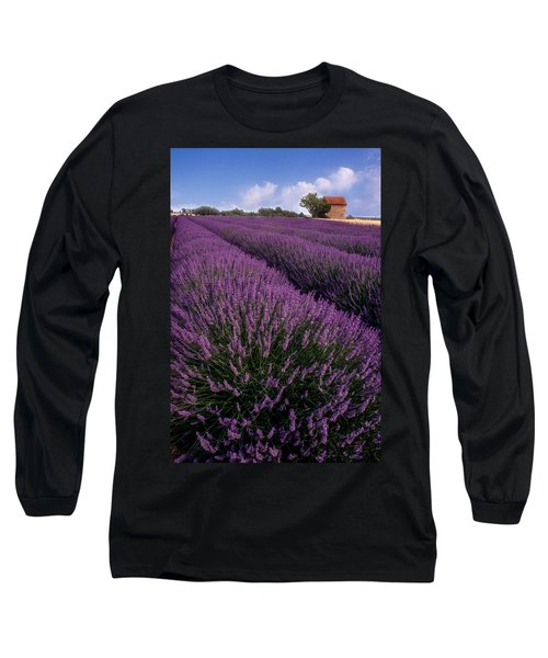 Lavender In Provence Long Sleeve T-Shirt