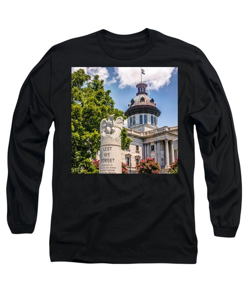 Long Sleeve T-Shirt featuring the photograph Law Enforcement Memorial by Rob Sellers
